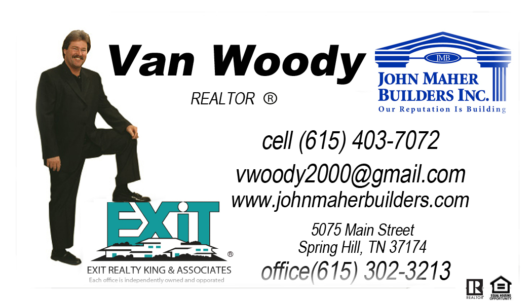 The Deerfield Plan in Wades Grove www.vanwoody.com business card