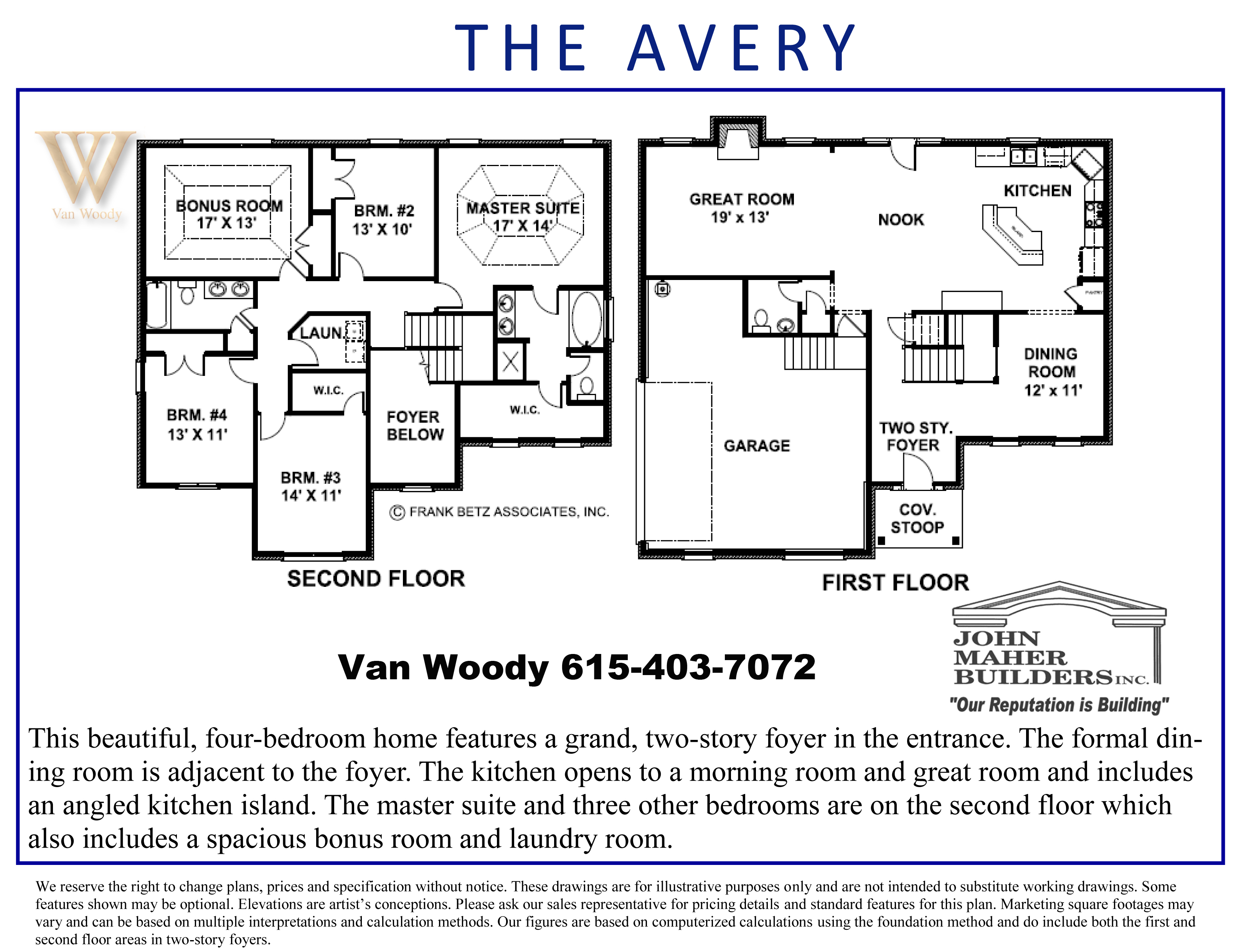 Avery Plan in Spring Hill Place