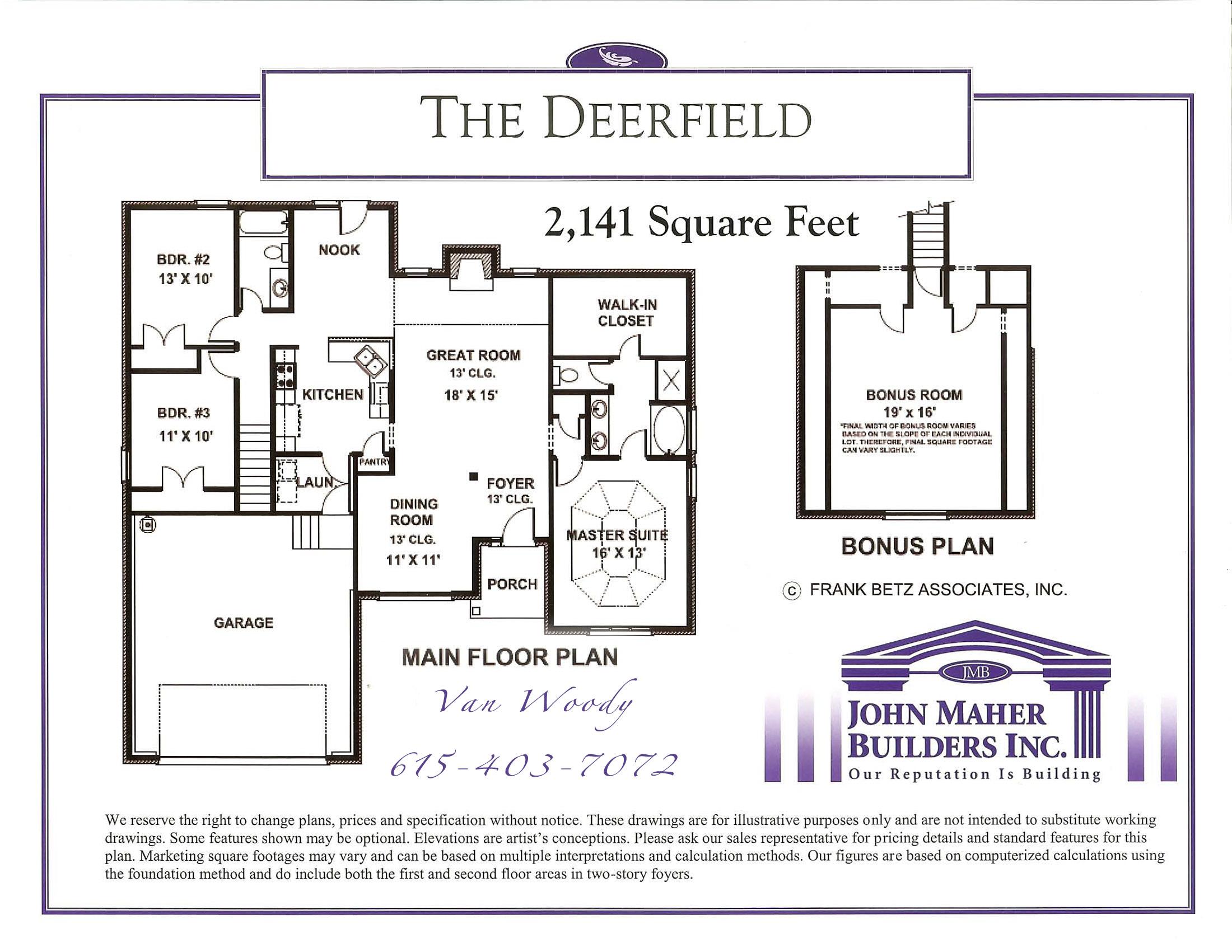 The Deerfield Plan in Wades Grove