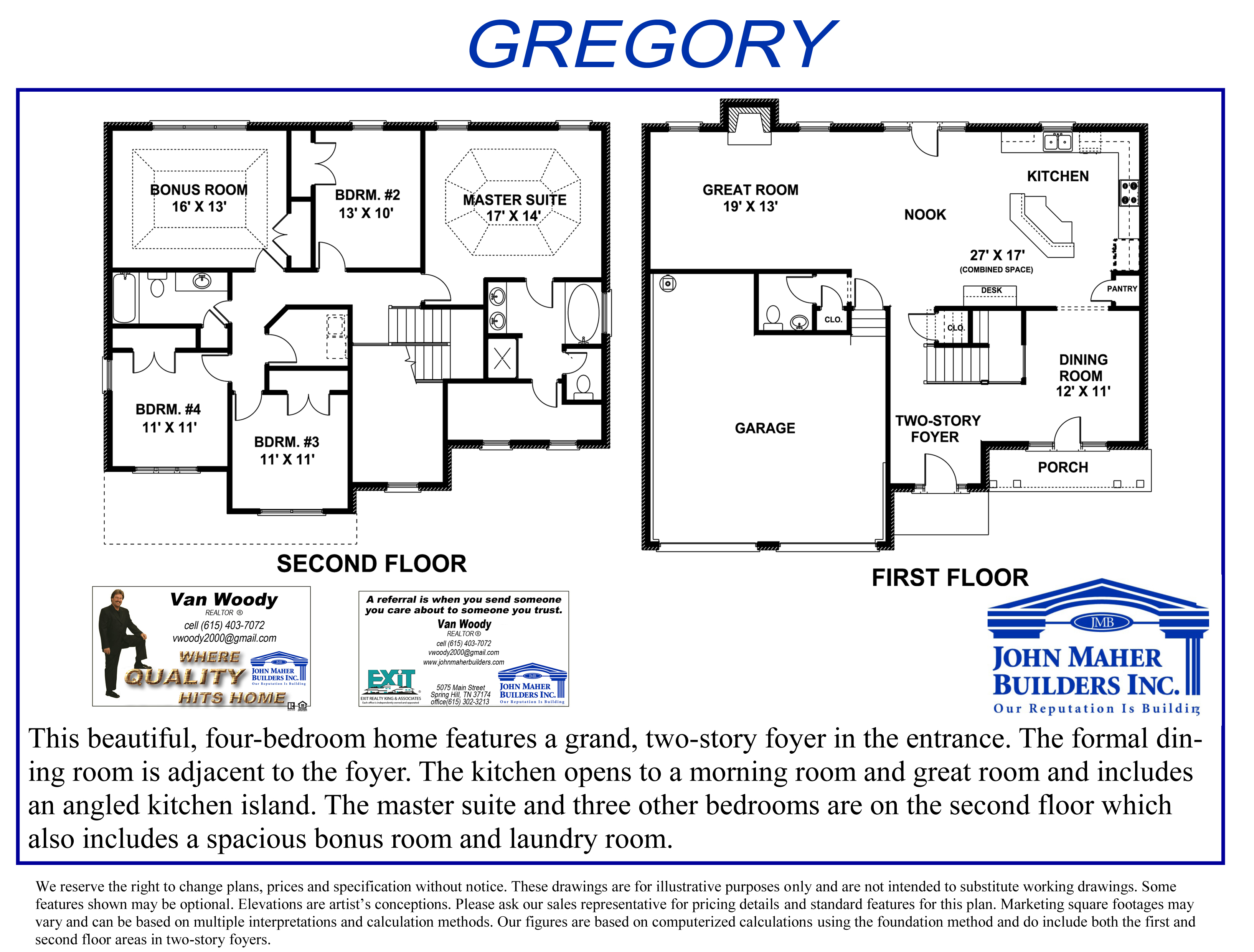The Gregory Plan in Wades Grove