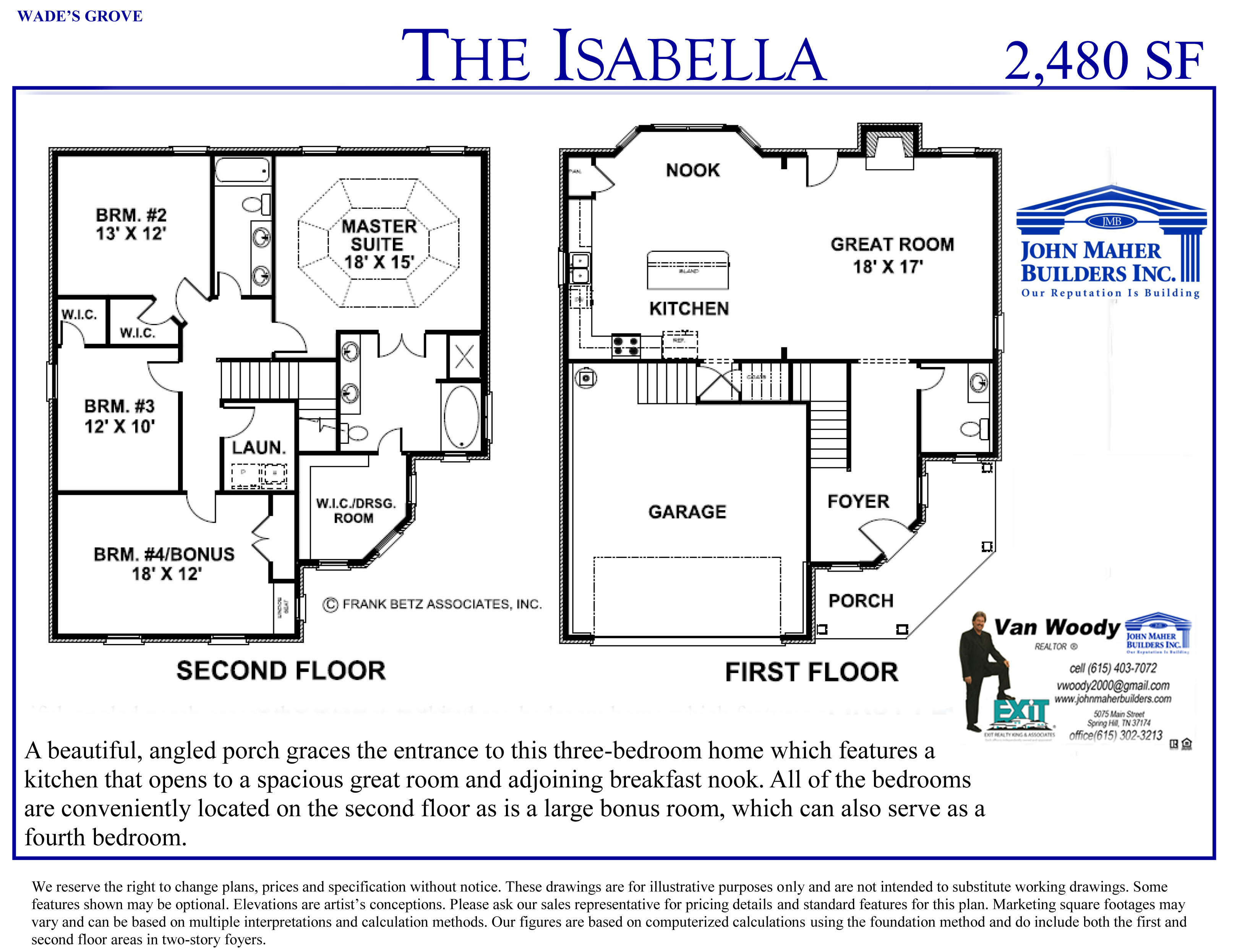 The Isabella Plan in Wades Grove