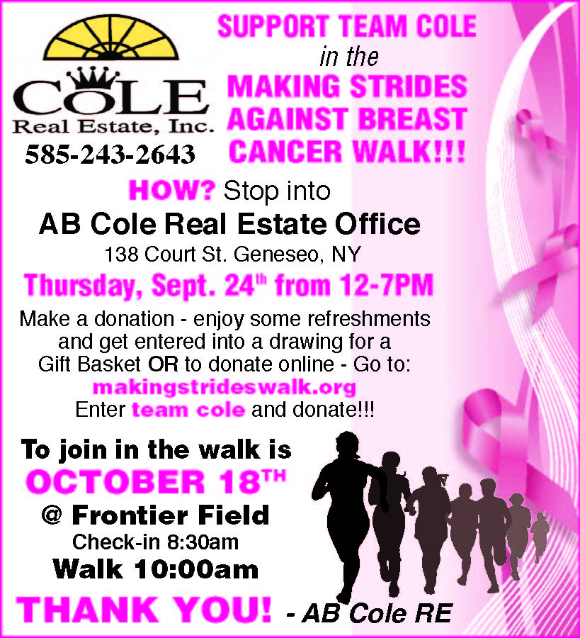 Support Team Cole !!!