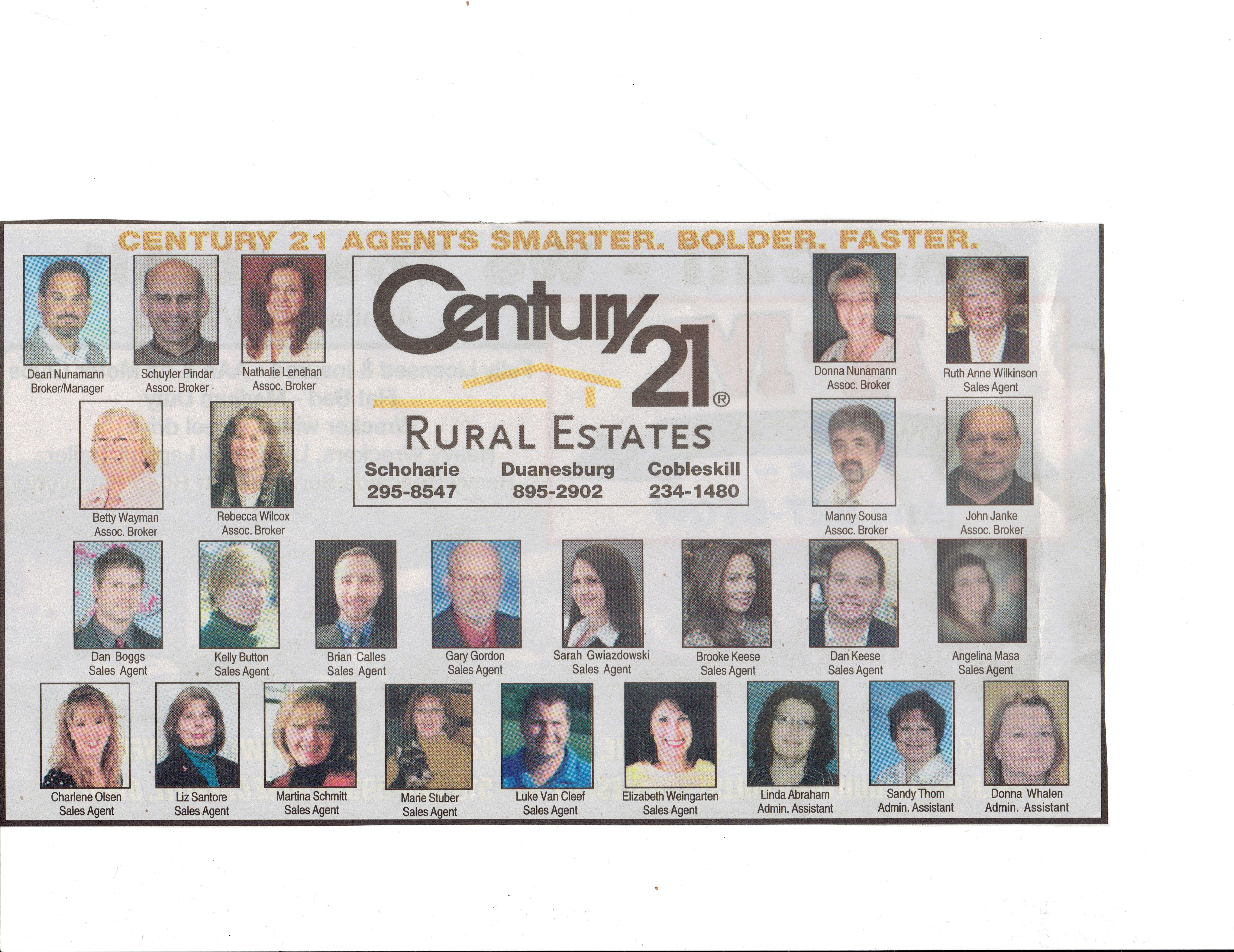 Looking for the right agent to list with? Give us a call>>Century 21 Rural Estates