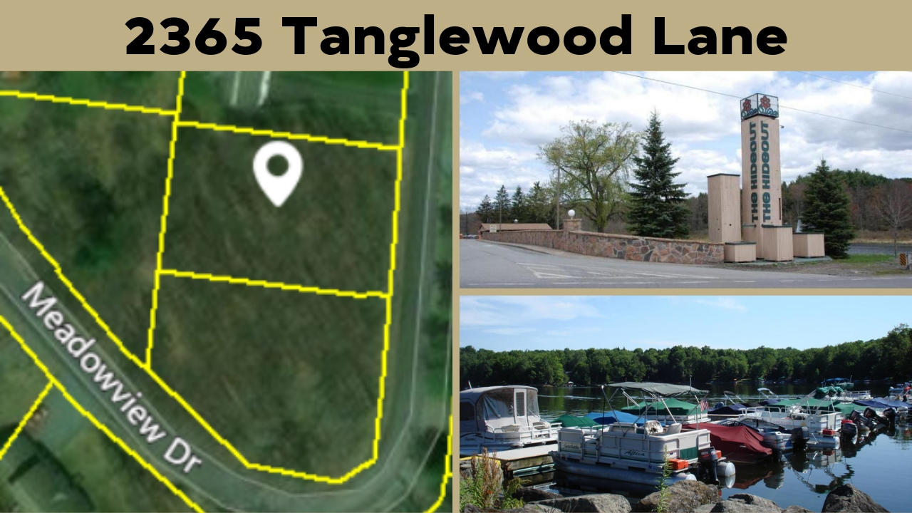 2365 Tanglewood Lane Building Lot In The Hideout Community