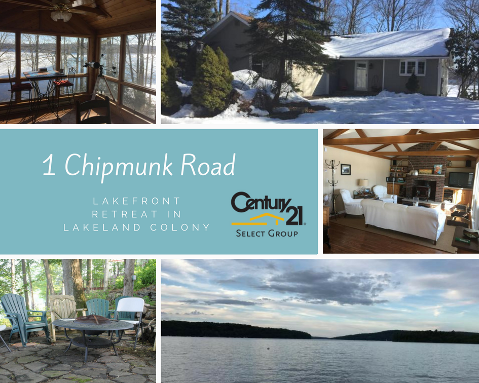 1 Chipmunk Road: Lakefront Retreat in Lakeland Colony