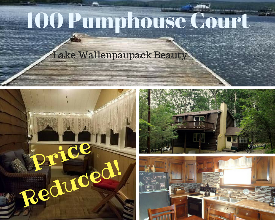Price Reduced! 100 Pumphouse Court: Lake Wallenpaupack Beauty!