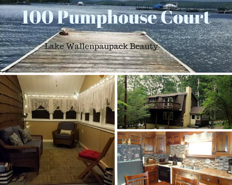 100 Pumphouse Court: Lake Wallenpaupack Beauty