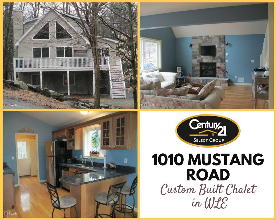1010 Mustang Road: Custom Built Chalet in Wallenpaupack Lake Estates