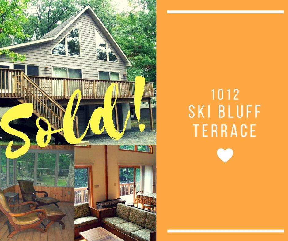 Sold! 1012 Ski Bluff Terrace: Wallenpaupack Lake Estates
