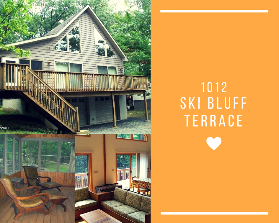 1012 Ski Bluff Terrace, Lake Ariel PA: Custom Chalet Near Lake Wallenpaupack