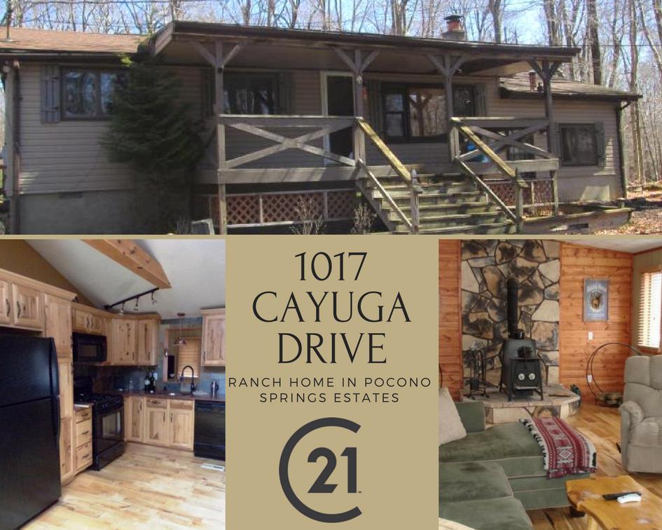 1017 Cayuga Drive: Ranch Home in Pocono Springs Estates