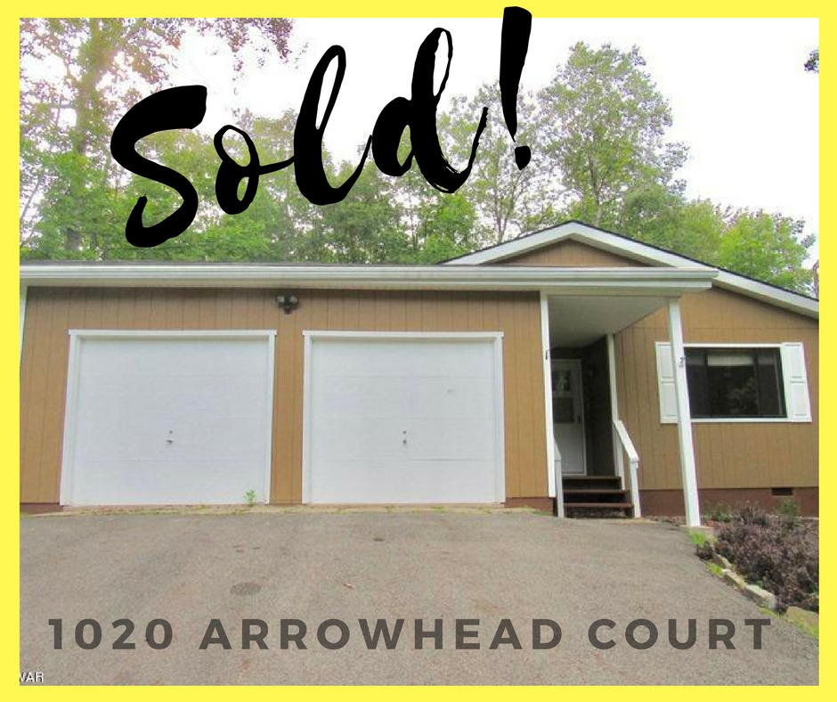 SOLD! 1020 Arrowhead Court: Wallenpaupack Lake Estates