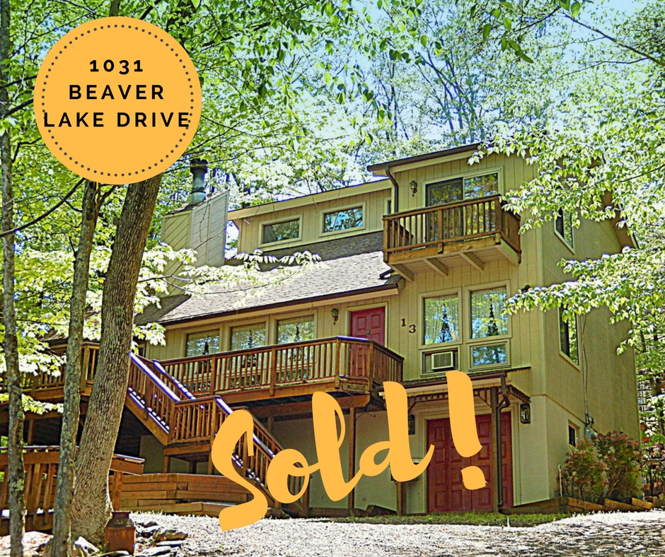 Sold! 1031 Beaver Lake Drive: Wallenpaupack Lake Estates