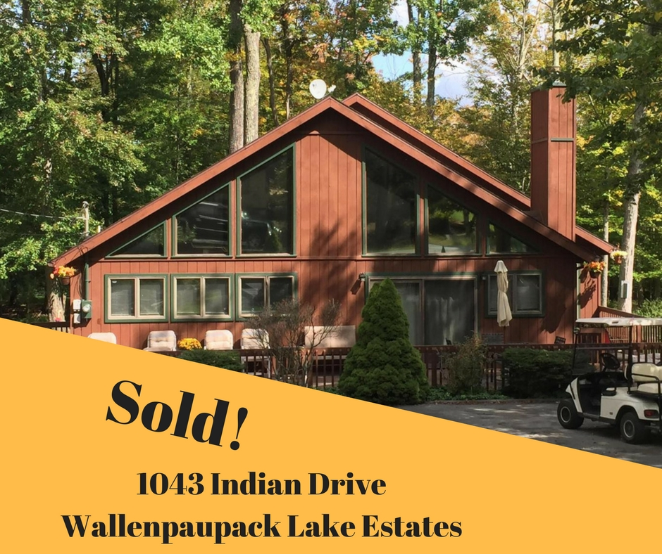 Sold, 1043 Indian Drive, Wallenpaupack Lake Estates