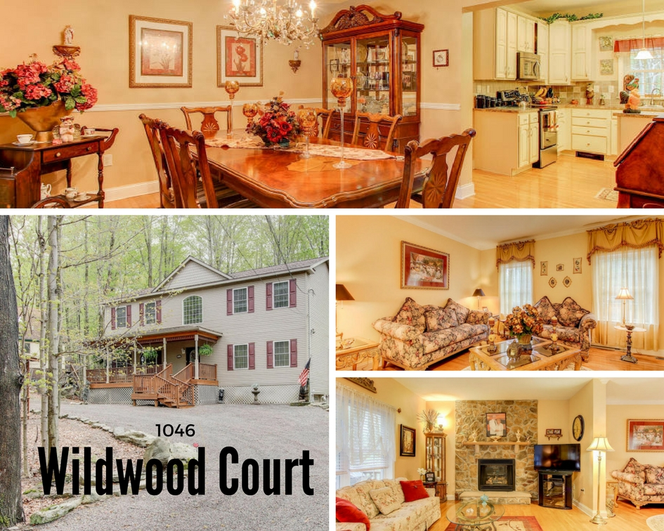 1046 Wildwood Court: Immaculate Hideout Center Hall Colonial