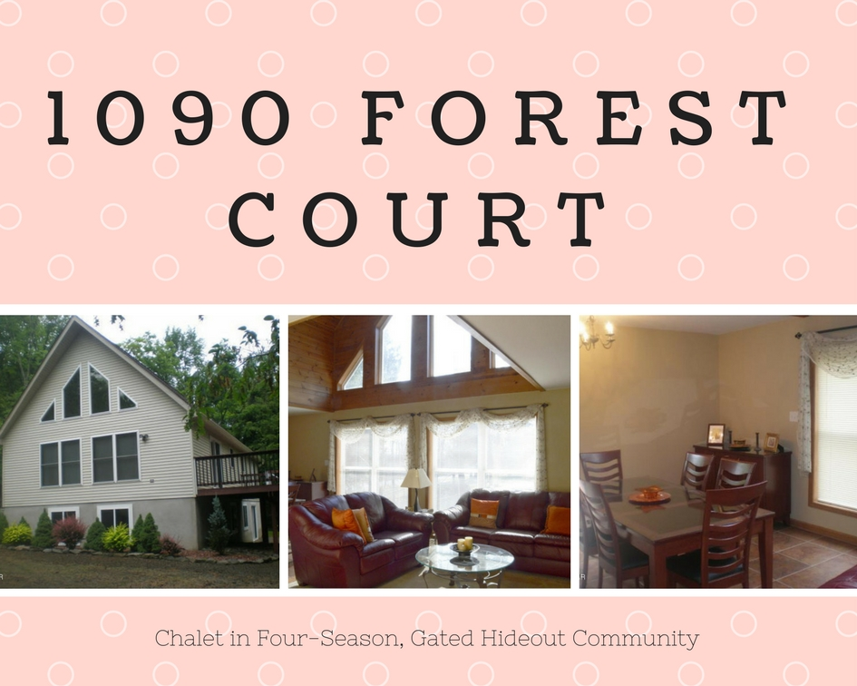 1090 Forest Court: Chalet in Four Season, Gated Hideout Commuity