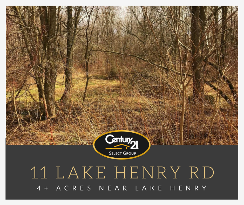 11 Lake Henry Road: 4+ Private Wooded Acres Near Lake Henry