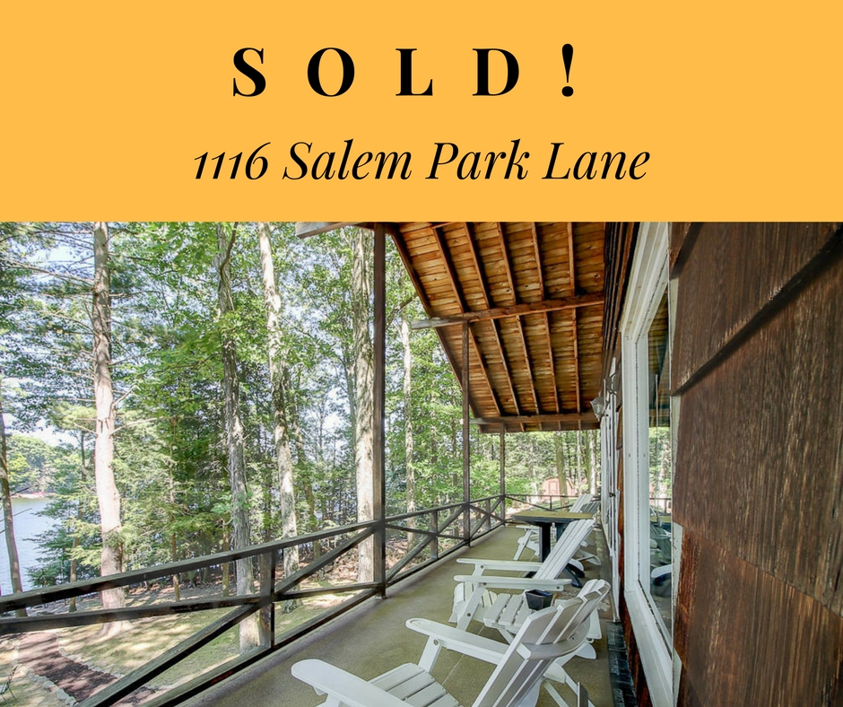 Sold! 1116 Salem Park Lane; Parkside