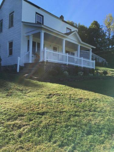 RECENTLY REDUCED!! This Pleasant Farmhouse Located Just Outside of Honesdale Features 3 Bedrooms and 2 Bathrooms. Recently Re-Modeled; Enjoy Hardwood Floors & Stunning Views From the Front or Back Porches! The Detached Garage is a Perfect Place to Store A