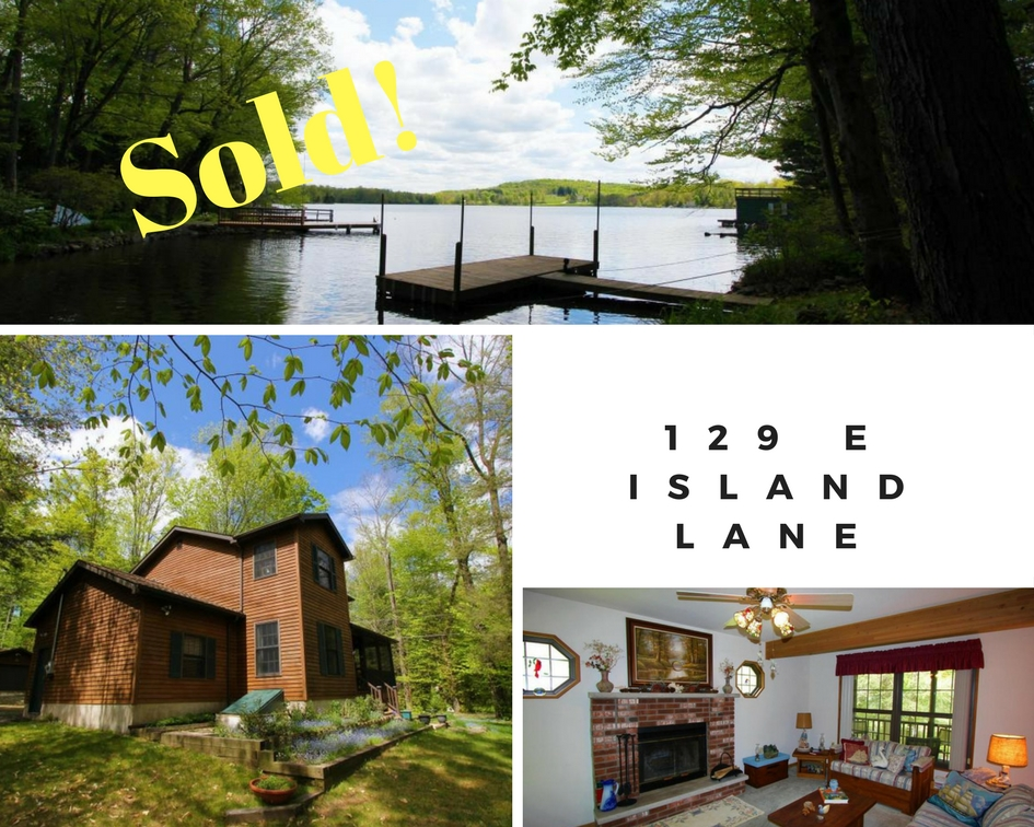 Sold! 129 E Island Lane, Lake Henry Cottages