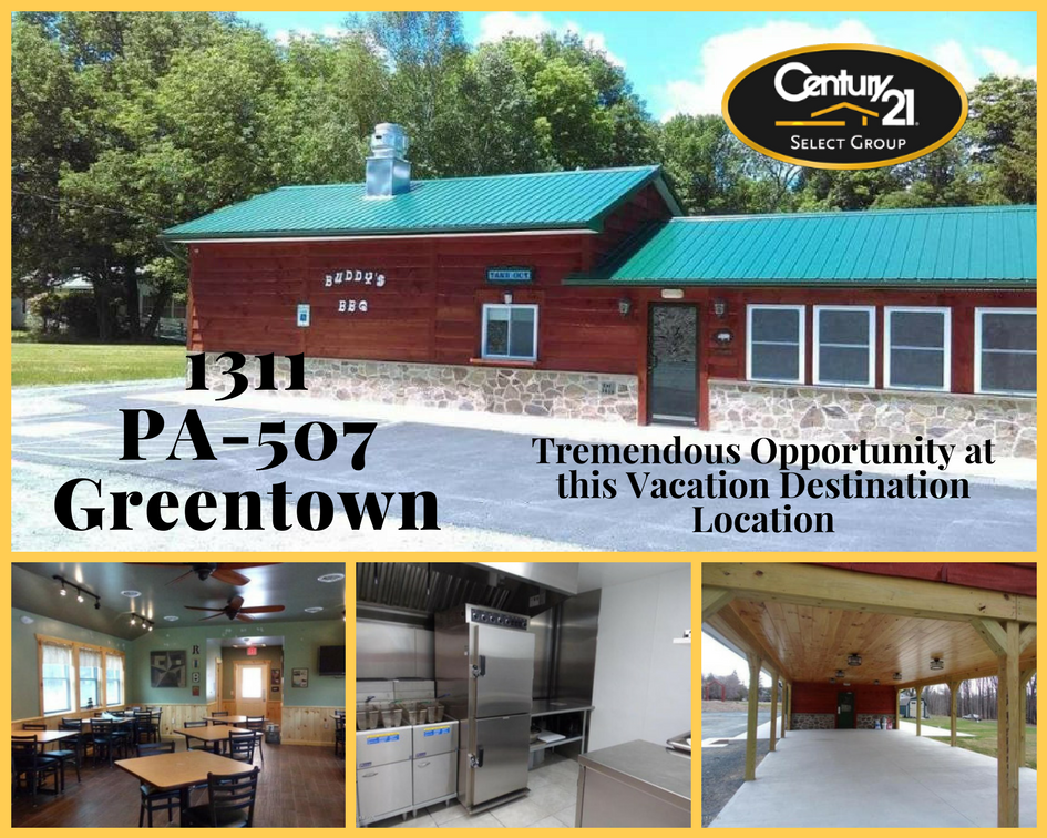 1311 PA-507: Tremendous Restaurant Opportunity in Greentown