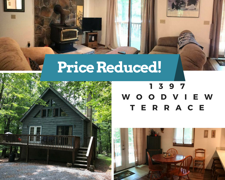 Price Reduced! 1397 Woodview Terrace: Hideout Community Chalet For Sale