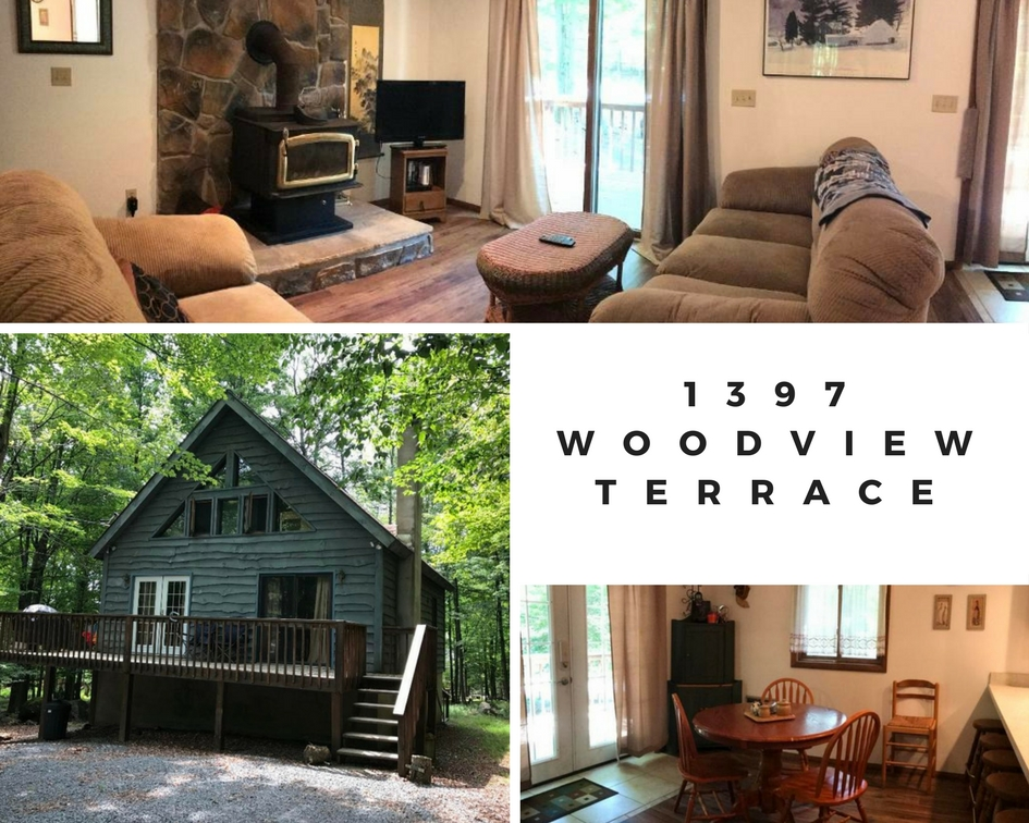 1397 Woodview Terrace: Charming Hideout Chalet