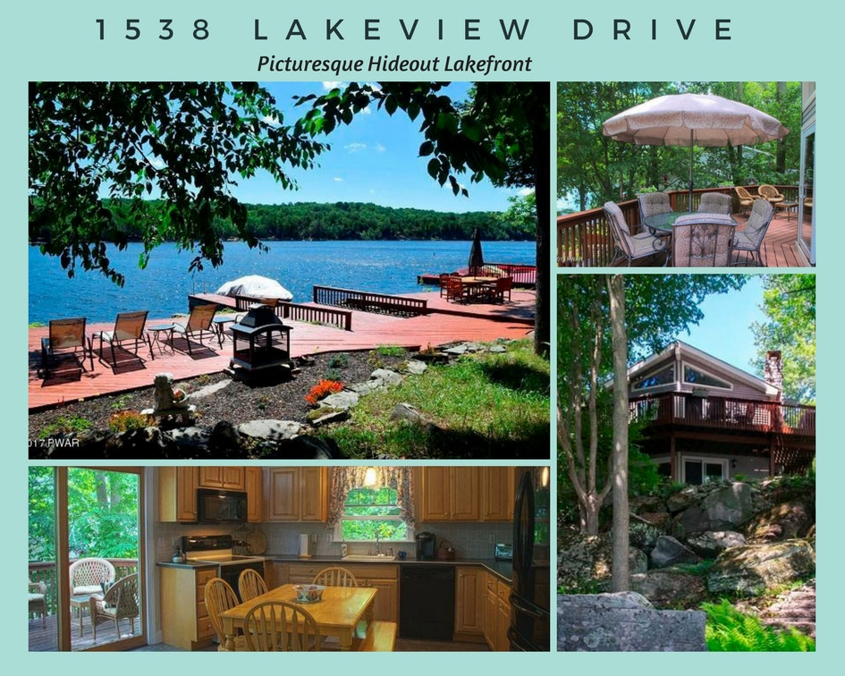1538 Lakeview Drive: Picturesque Hideout Lakefront