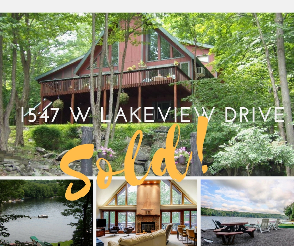 Sold! 1547 Lakeview Drive, The Hideout