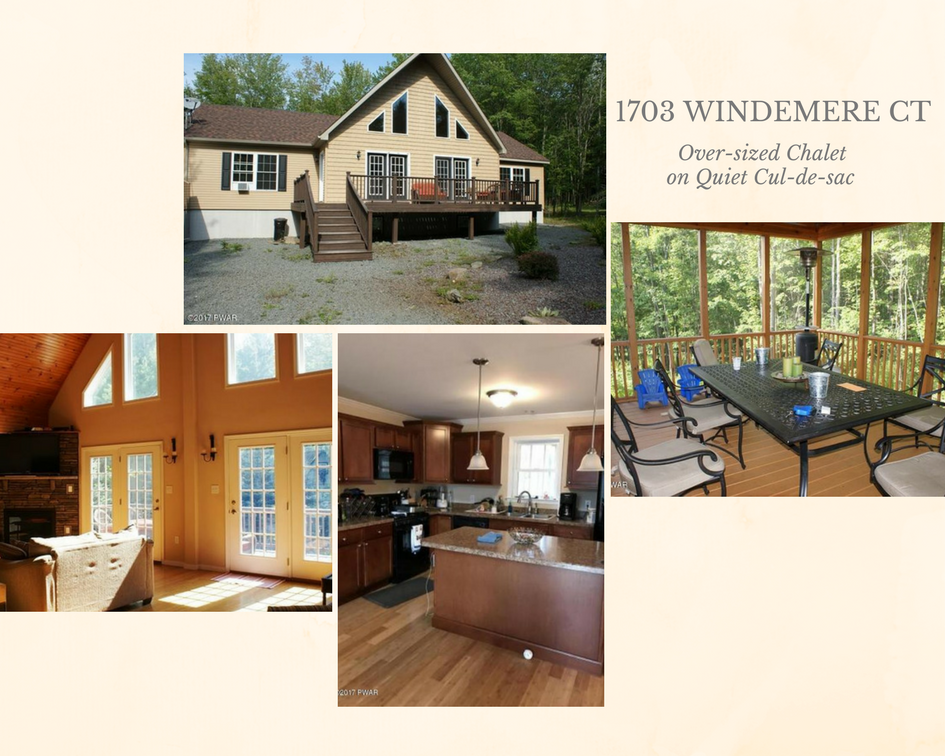1703 Windemere Court: Over-sized Chalet on Quiet Cul-de-sac