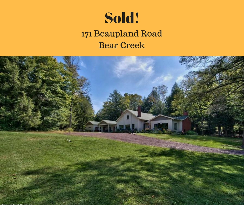 Sold! 171 Beaupland Road: Bear Creek