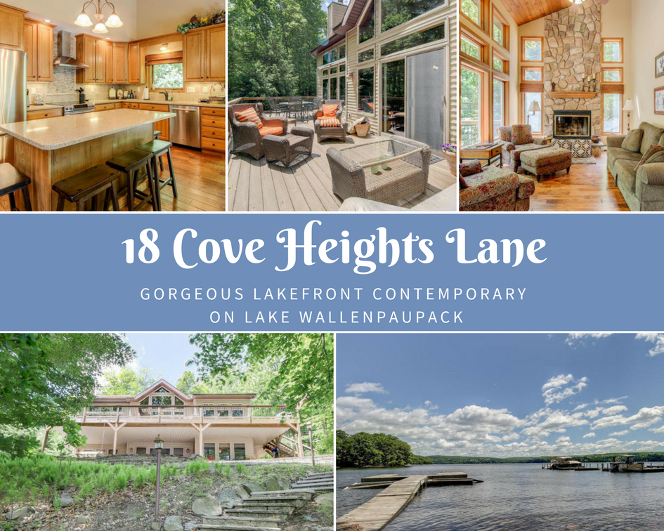 18 Cove Heights Lane: Gorgeous Lakefront Contemporary on Lake Wallenpaupack
