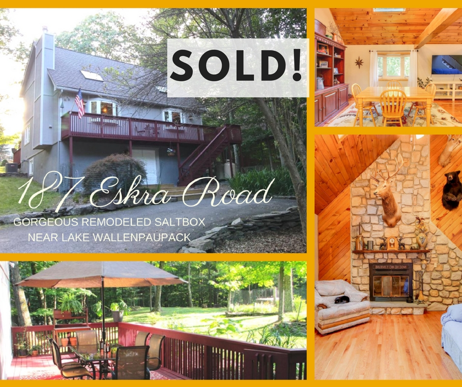 Sold! 182 Eskra Road: Wallenpaupack Lake Estates