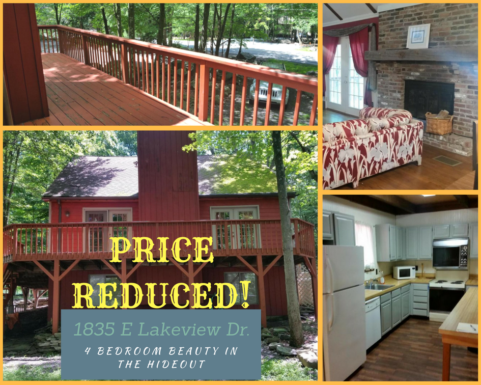 Price Reduced! 1835 E Lakeview Drive: 4 Bedroom Beauty in The Hideout
