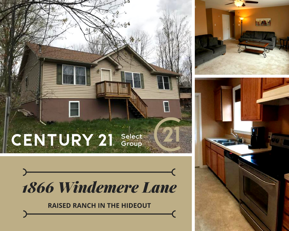 1866 Windemere Lane, Lake Ariel PA: Raised Ranch in The Hideout on christmas story house floor plan, gatsby house floor plan, barbie house floor plan, incredibles house floor plan, frodo baggins house floor plan,