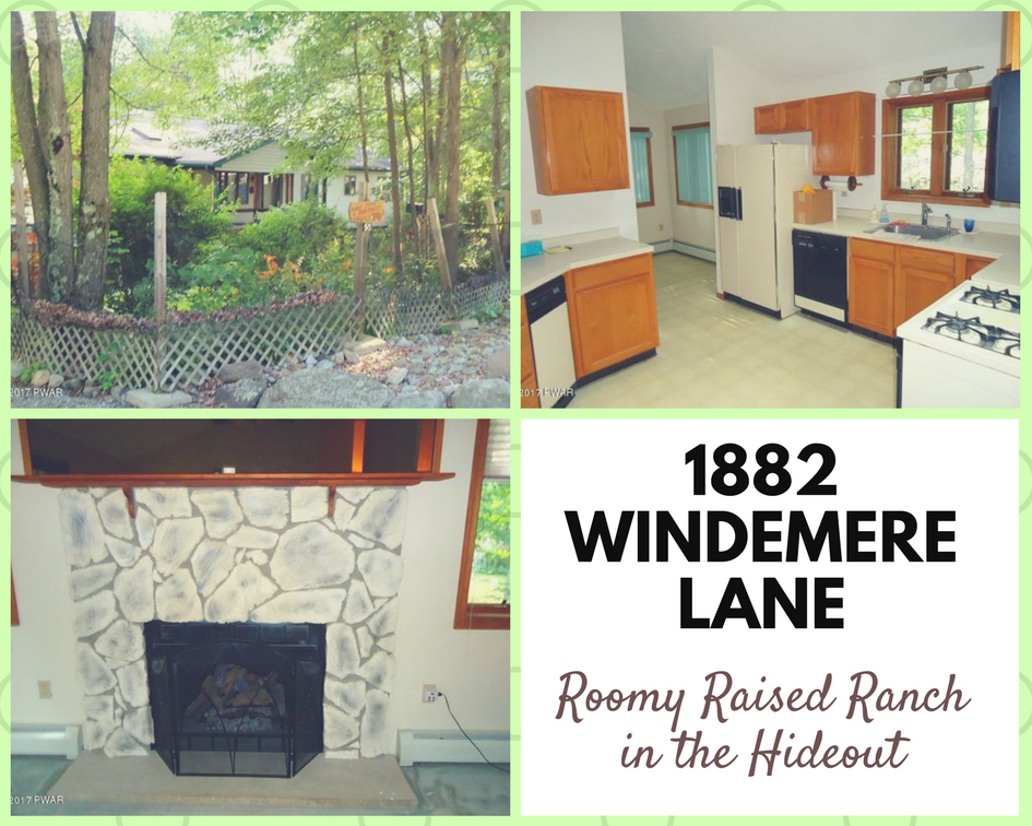 1882 Windemere Lane, Lake Ariel PA: Roomy Raised Ranch in The Hideout