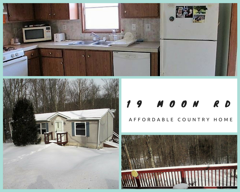 19 Moon Road: Affordable Country Home
