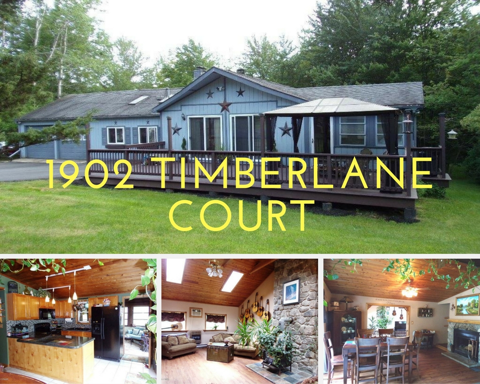 1902 Timberlane Ct, Lake Ariel PA: Level Entry Ranch in The Hideout