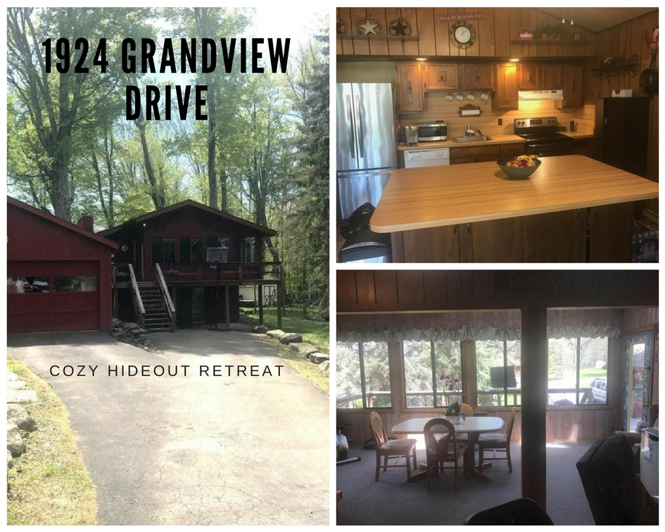 1924 Grandview Drive: Cute & Cozy Hideout Retreat