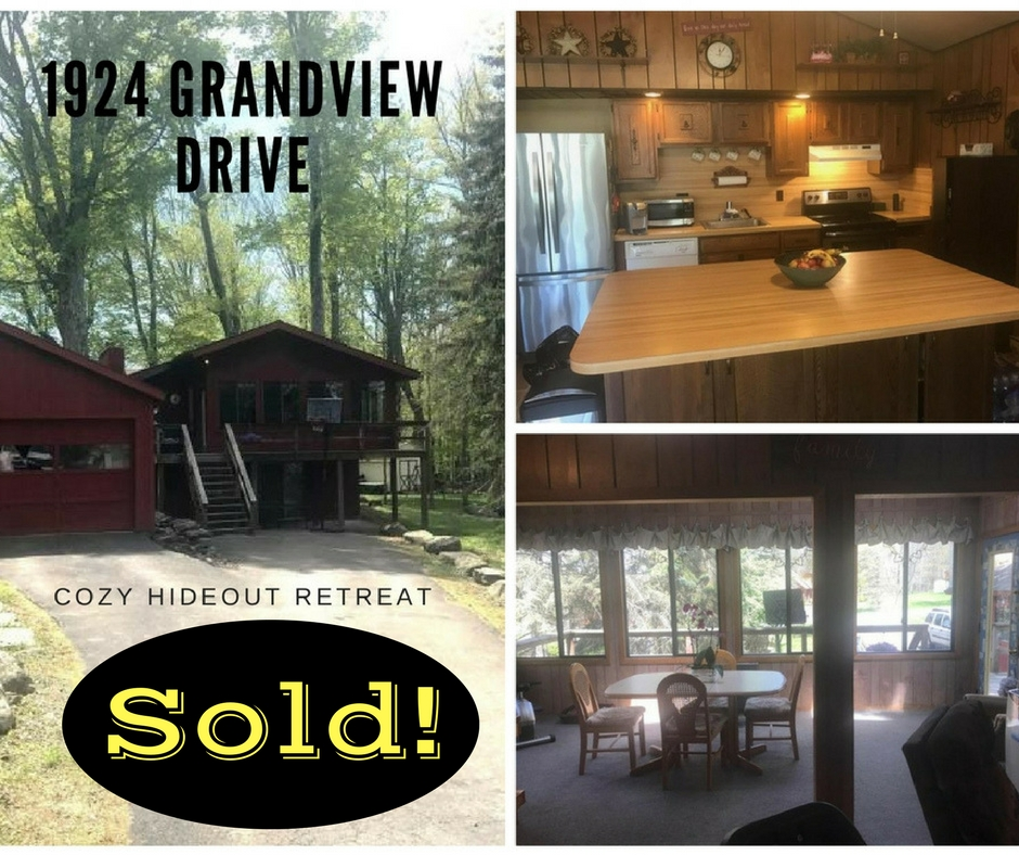 SOLD! 1924 Grandview Drive: The Hideout