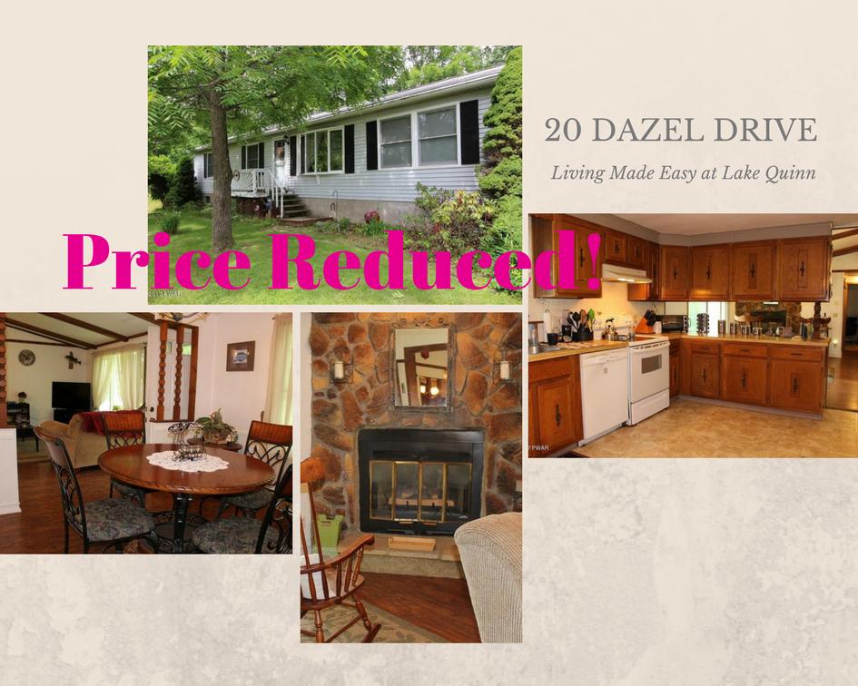 20 Dazel Drive, South Canaan PA: Living Made Easy at Lake Quinn