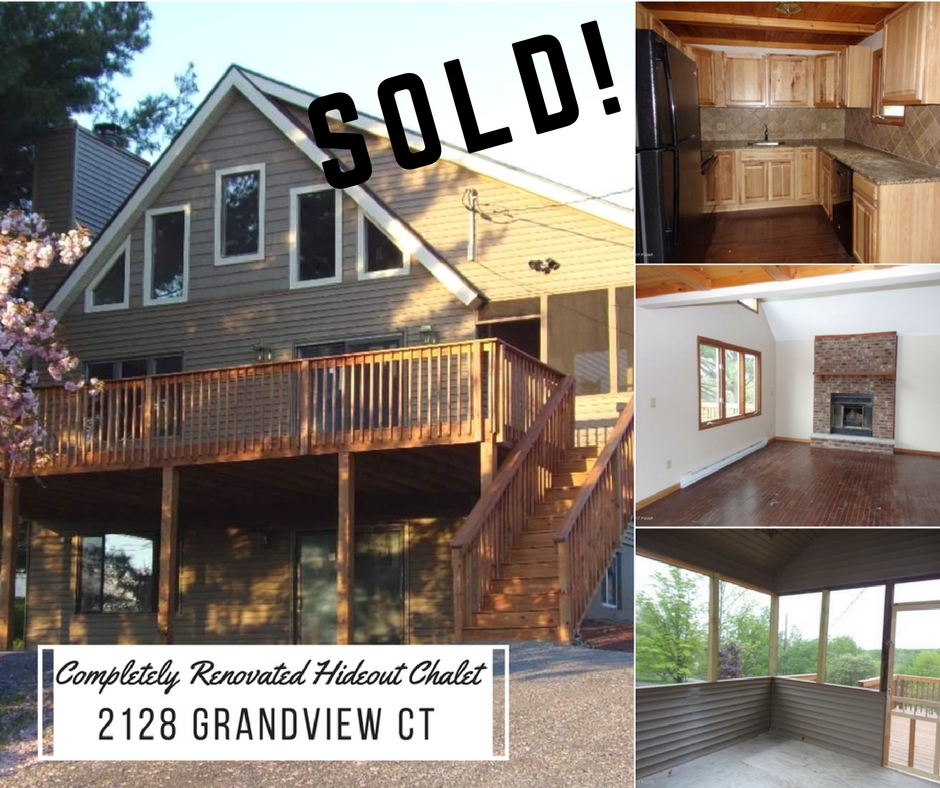Sold! 2128 Grandview Court; The Hideout