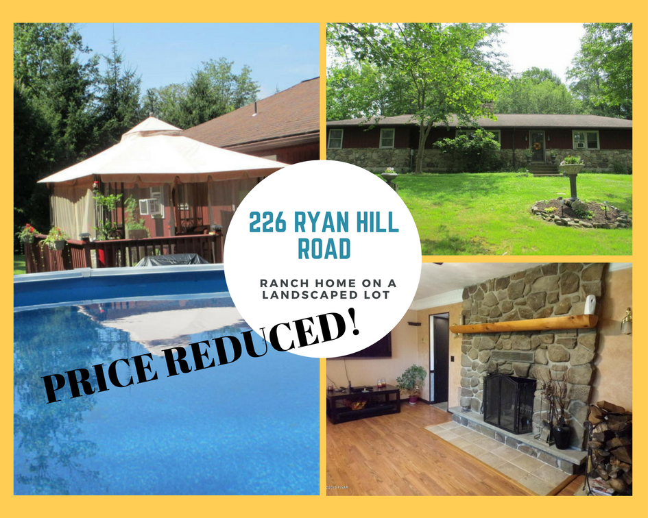 226 Ryan Hill Road: Ranch Home on a Landscaped Lot