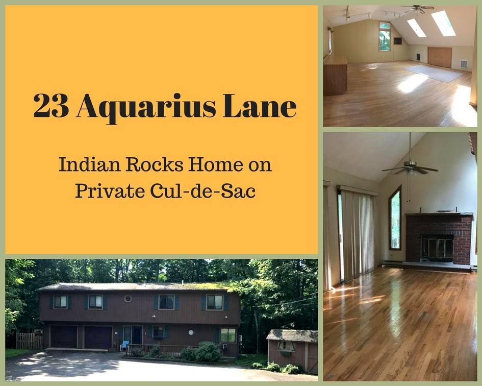 23 Aquarius Lane: Indian Rocks Home on Private Cul-de-sac