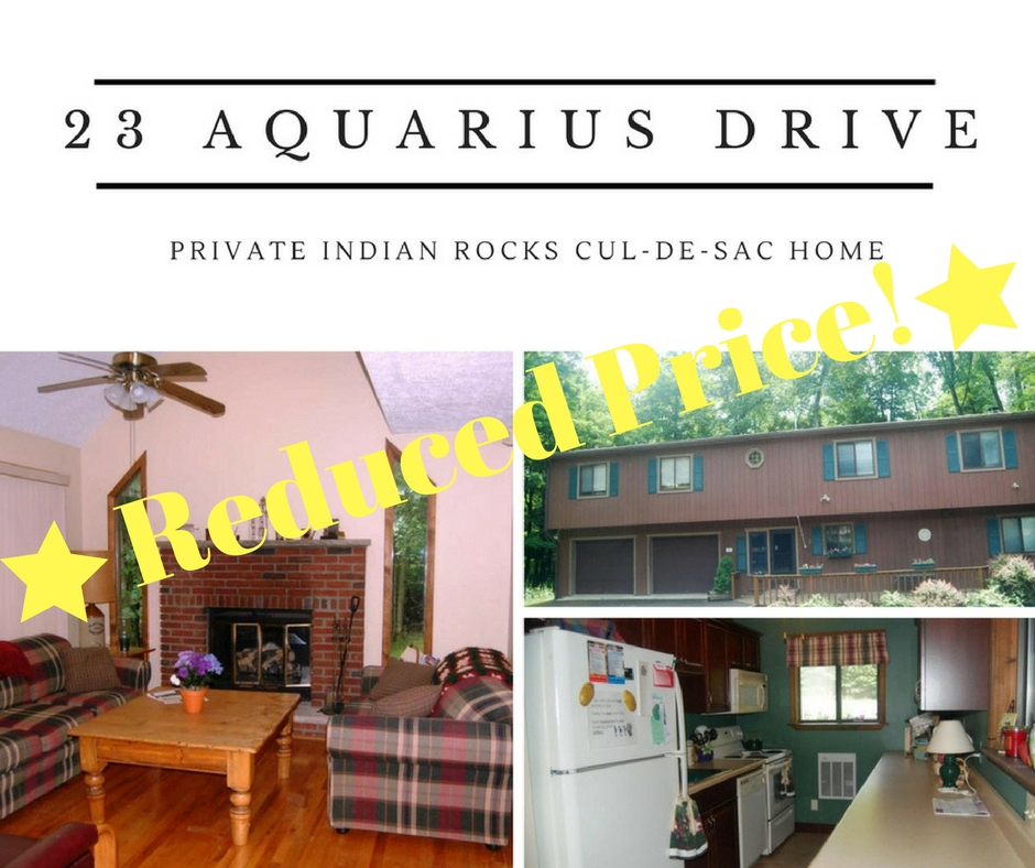 23 Aquarius Lane: Private Indian Rocks Cul-de-sac Home