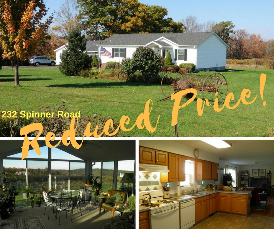 Reduced Price! 232 Spinner Road