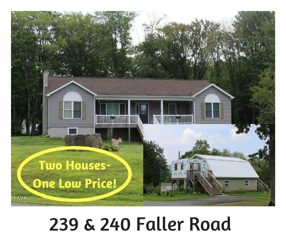 239 & 240 Faller Road: Two Houses-One Low Price!