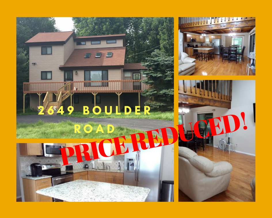 PRICE REDUCED! 2649 Boulder Road: Beautiful Contemporary Home in The Hideout
