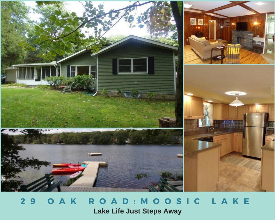 29 Oak Road, Jefferson Twp, Moosic Lake: Lake Life Just Steps Away