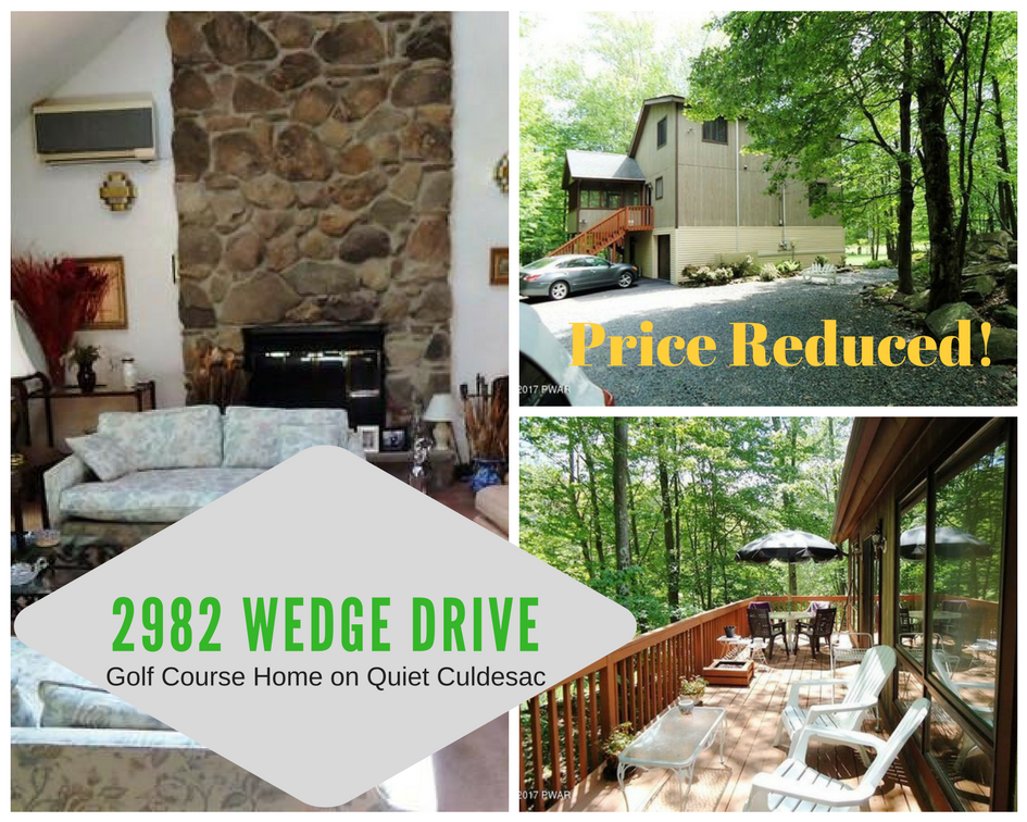 Price Reduced! 2982 Wedge Drive,Lake Ariel PA: Hideout Golf Course Home on Quiet Cul-de-sac